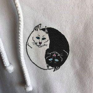 Ripndip Shirts - Ripndip Cat Hoodie Sweatshirt Sweater (Small)